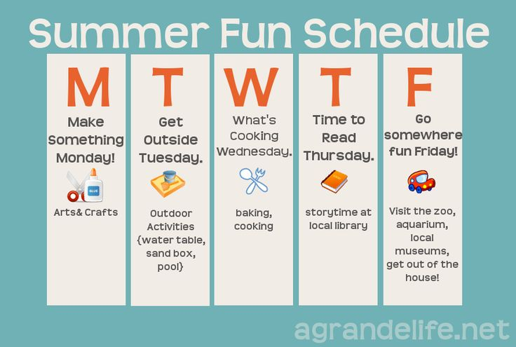 Summer of Fun-> organized :)