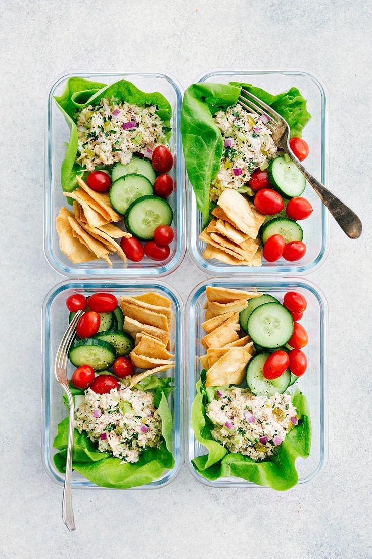 Meal Prep Tuna Salad | Chelsea's Messy Apron