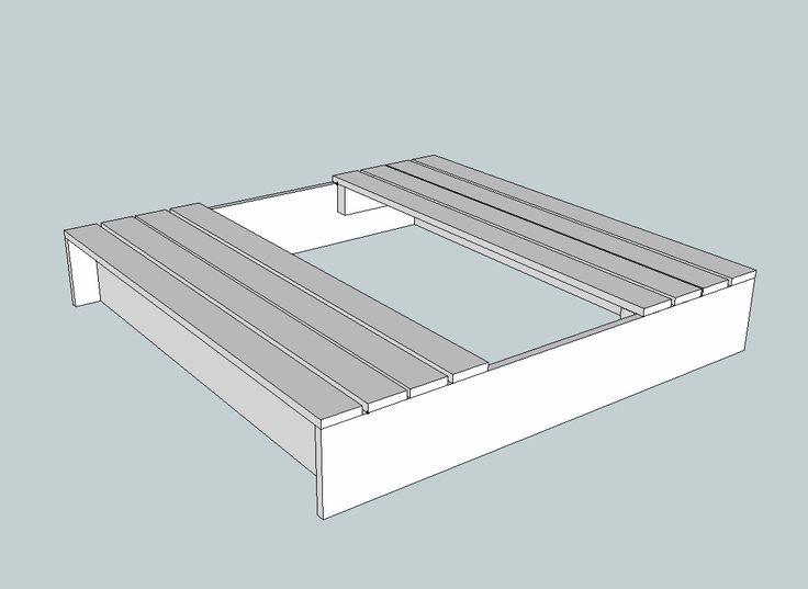 Best 25 pallet sandbox ideas on pinterest sandbox ideas for Sandbox with built in seats plans