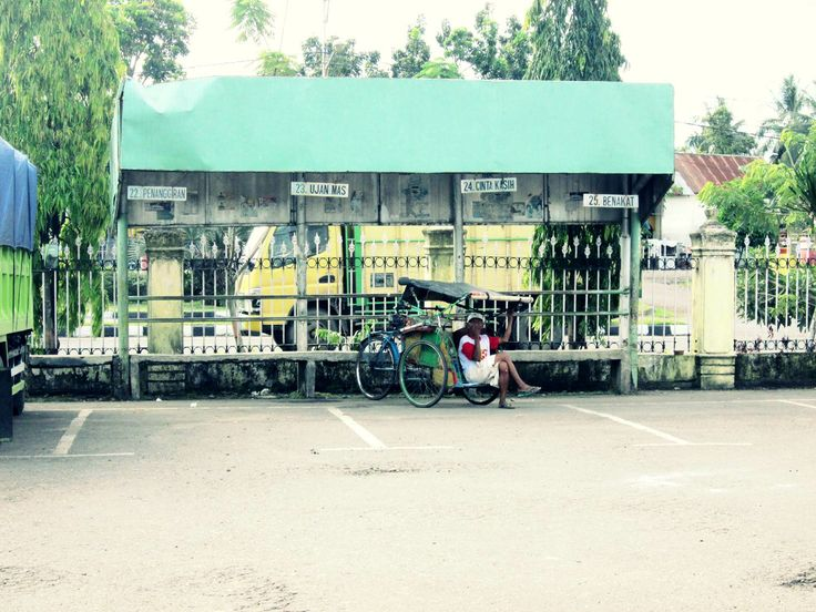 terminal, Muara enim, sumsel, indonesia