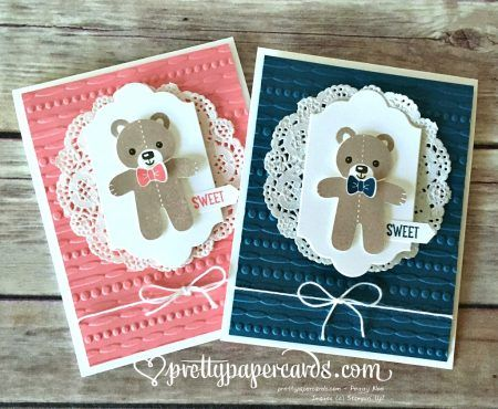 Baby Bears!! - Pretty Paper Cards