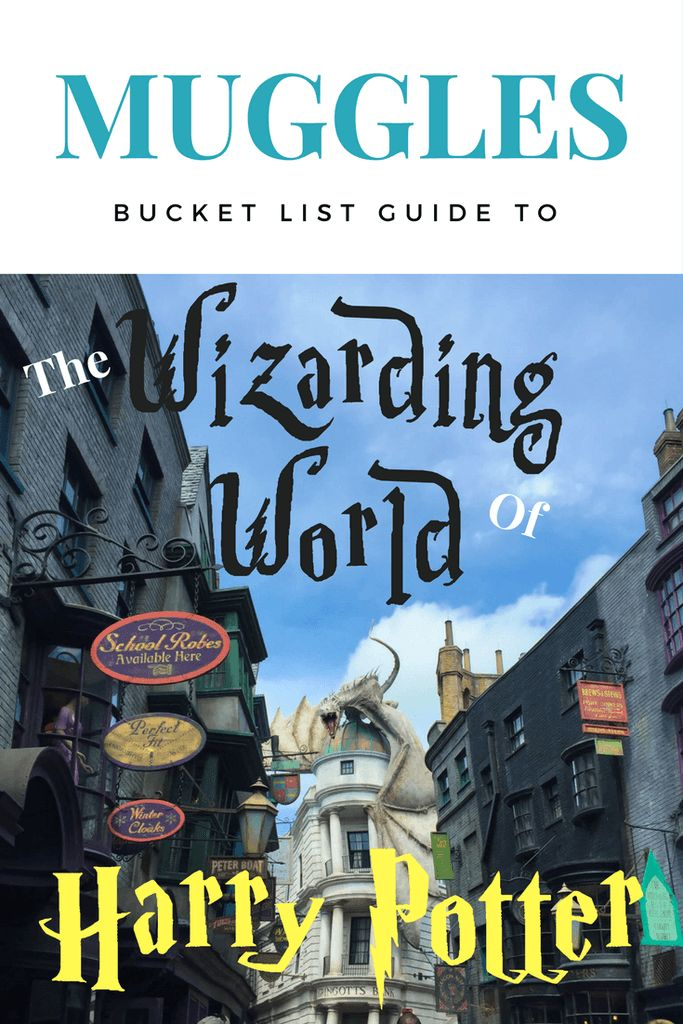 For you Muggles who desire to visit the Wizarding World of Harry Potter, here is the Ultimate Bucket List made just for you. | Harry Potter World at Universal Studios Orlando park tips. Learn about the absolute must see things, best food, and attractions at Harry Potter World.