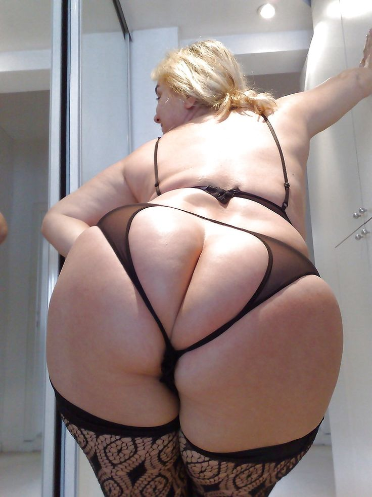 Cheeky One Hell Of A Perfect Mature Big Juicy Ass -2575