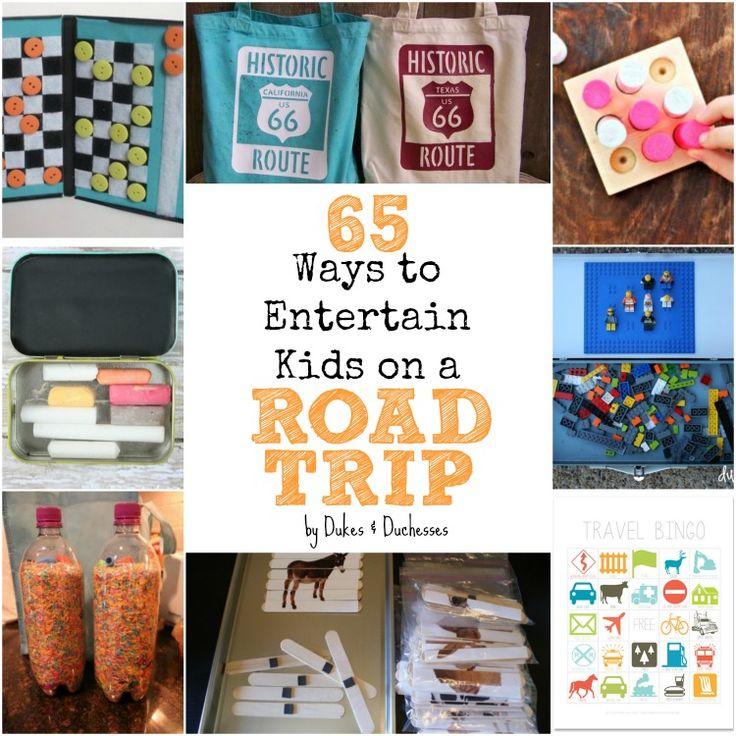 65 ways to entertain kids on a road trip