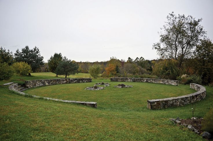 Circle of Peace at Pacem in Terris. Warwick, NY. (photo - DAVID CUNNINGHAM)