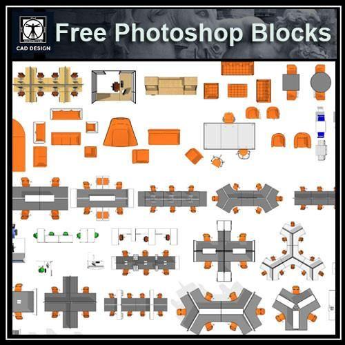 Free Photoshop Psd Office Blocks Model Photoshop Free