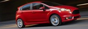 2015 Ford Fiesta - front
