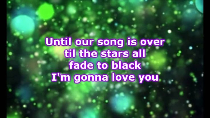 Luke Bryan  - To The Moon And Back (Lyrics)
