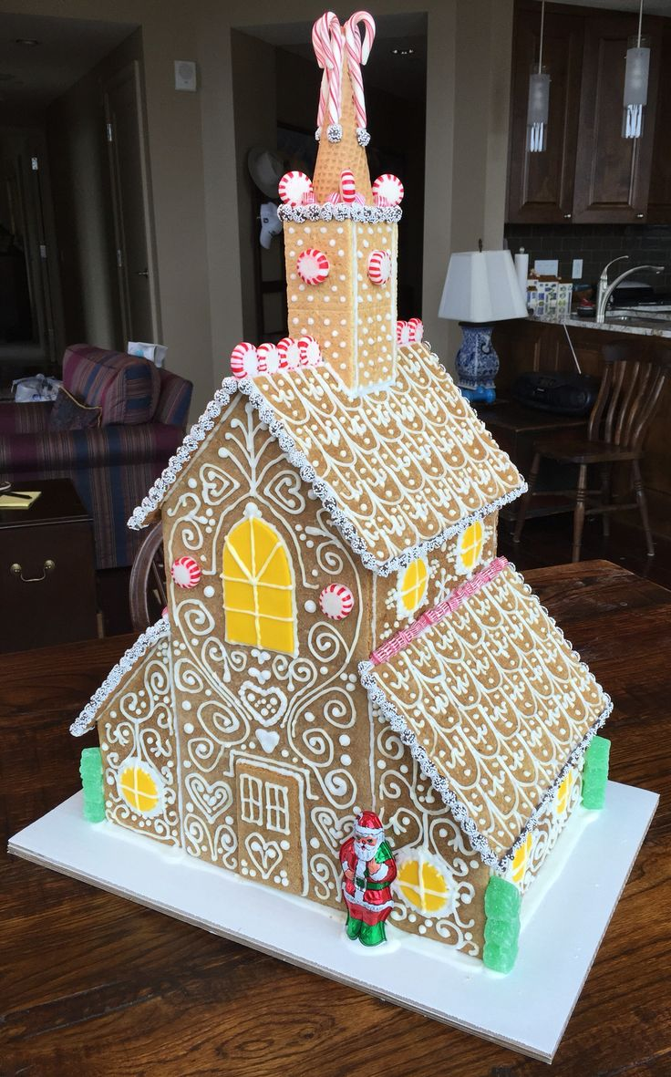 19 best Gingerbread churches images on Pinterest | Gingerbread ... Gingerbread Church House Designs on church family house, church snow, church cupcakes, church autumn, church country gingerbread recipe, church candy, church cakes,