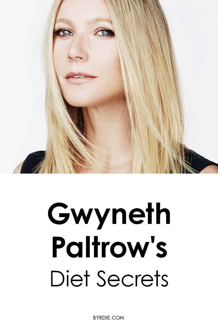 Gwyneth Paltrow's weight-loss tips