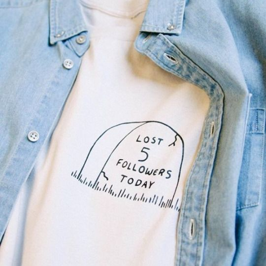 Graphic T Shirt | Lost Followers