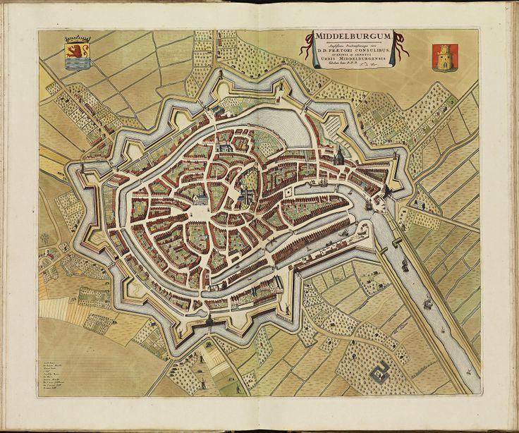 MIDDELBURG. Atlas De Wit.
