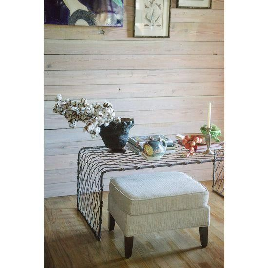 Image of Industrial Wire Coffee Table