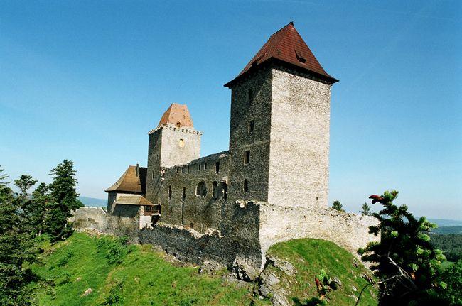 Česko, Kašperk - Hrad