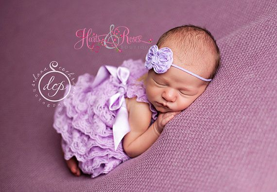 Baby Lace Romper.2PC SET-Baby Girl by HartsandRoses on Etsy
