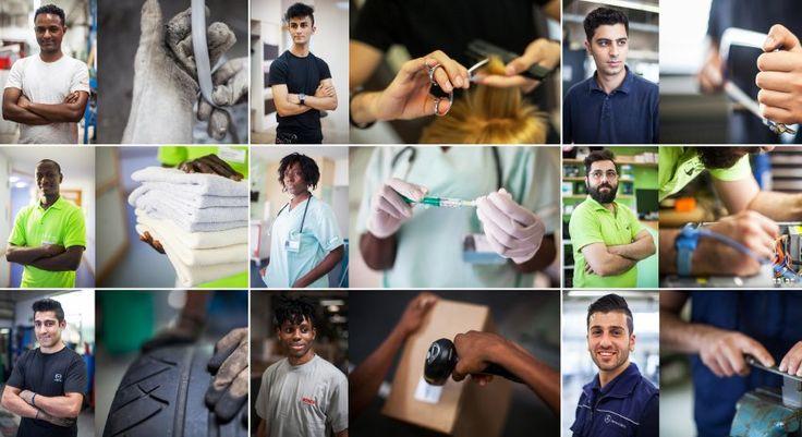 Flüchtlinge auf dem deutschen Arbeitsmarkt: Die schaffen das - SPIEGEL ONLINE - Wirtschaft