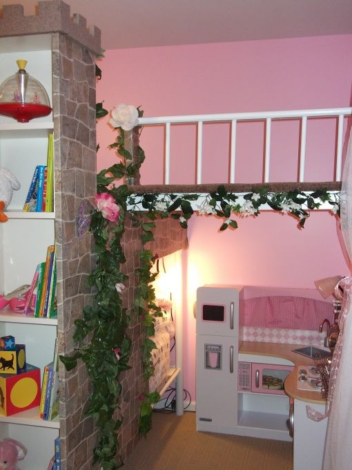 Princess Castle Room A Two Story Multifunction Bed