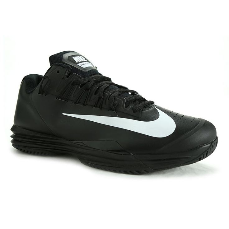 Nike Lunar Ballistec 1.5 Mens Tennis Shoe, Black/White, 705285 001