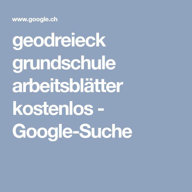 geodreieck grundschule arbeitsblätter kostenlos - Google-Suche