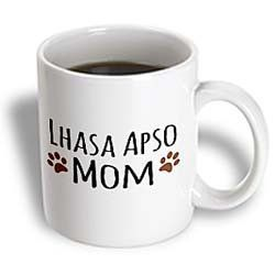 InspirationzStore Pet designs - Lhasa Apso Dog Mom - Doggie by breed