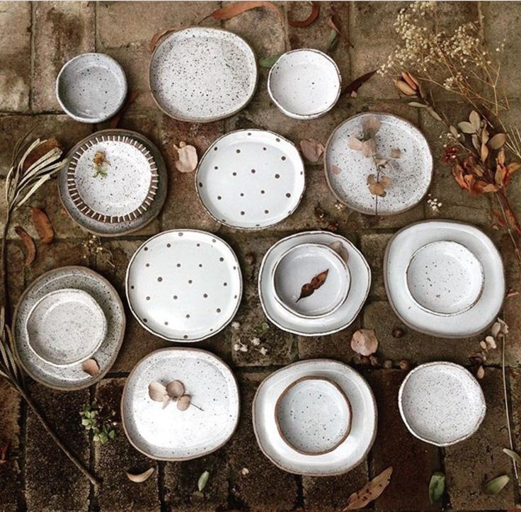 Plates by Barakee Pottery