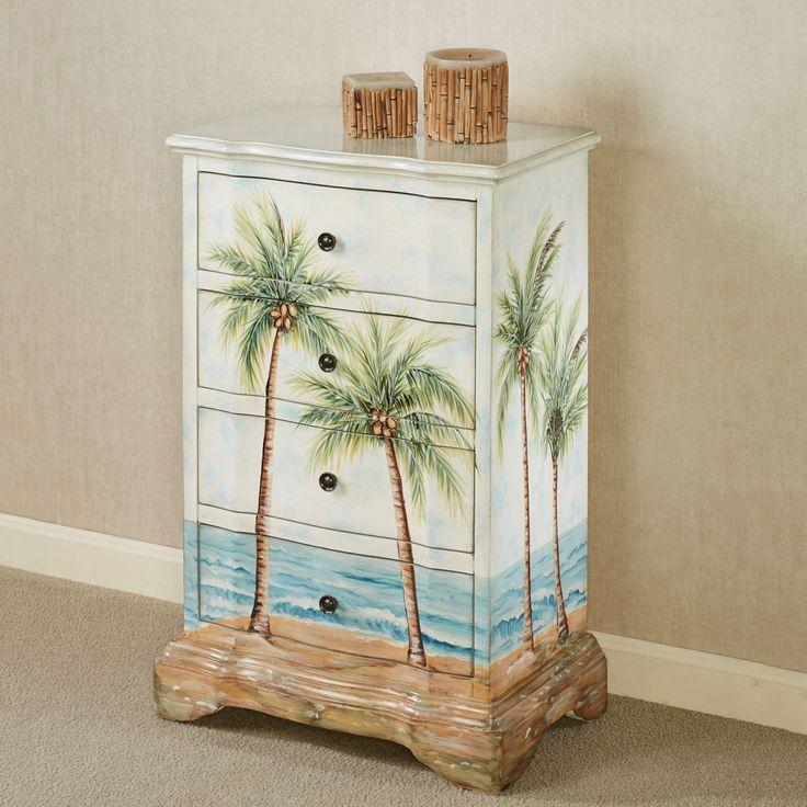 Summer Breeze Tropical Storage Cabinet