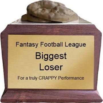 fantasy football loser trophy