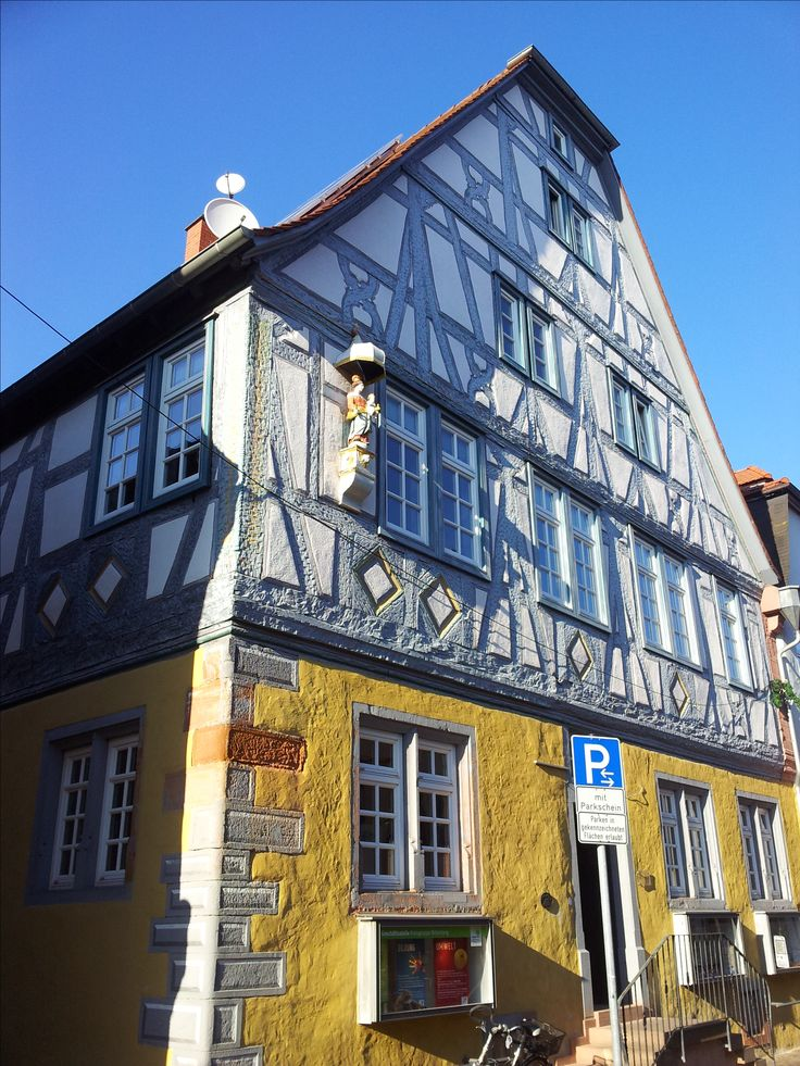 Our Lady in the town of Obernburg, county Miltenberg