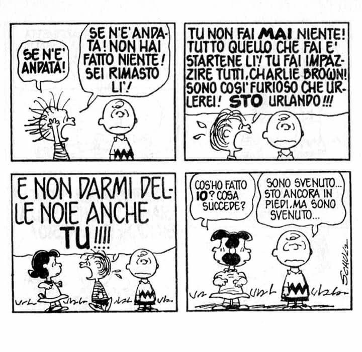 Peanuts - Charlie Brown - Linus - Lucy