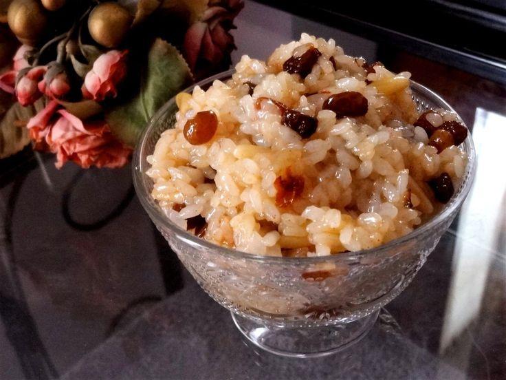 """Voici pour saluer les Albanais avec """"Cuisiner pour la paix"""" la recette d'un gâteau de riz aux raisins secs et aux pignons typique de leur cuisine."""
