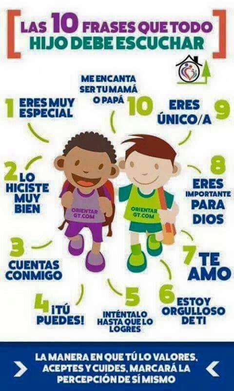 Frases bonitas para los niños