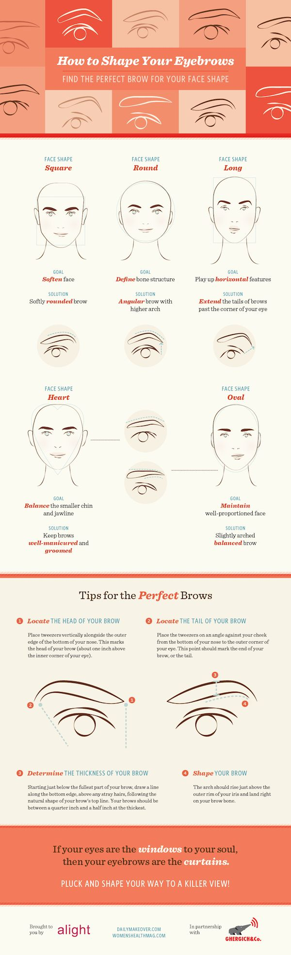 Oh the lovely things: How to Shape your Eyebrows