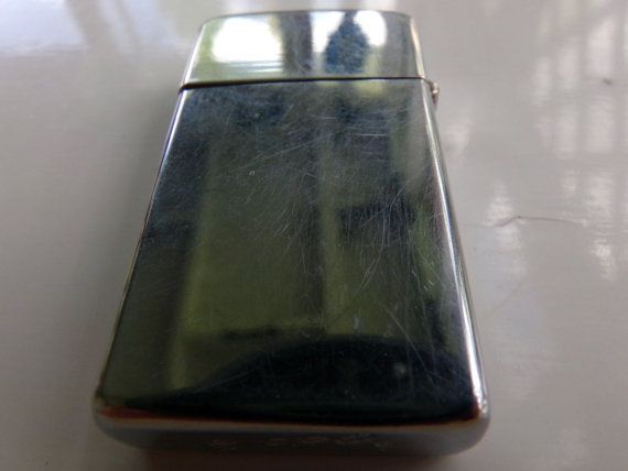 Zippo Slim Line 1960's Lighter Zippo lighter by Morethebuckles