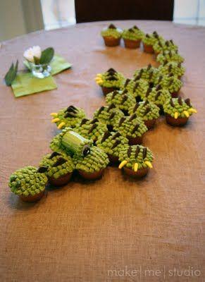 Cupcake Alligator