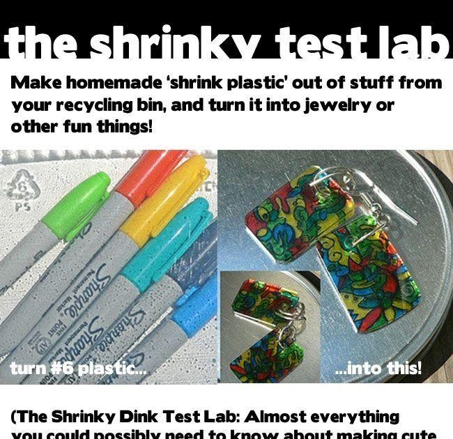 Che cos'è la Shrinky Dinks Jewelry? Gioielli fa-da-te riciclando la plastica http://dabbled.org/coming-tomorrow-shrinky-dinky-test-la...