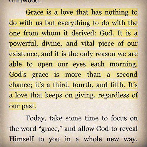 God's grace <3