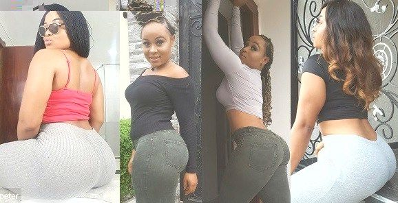 Actress Inem Peter reveals why she flaunts her backside all the time