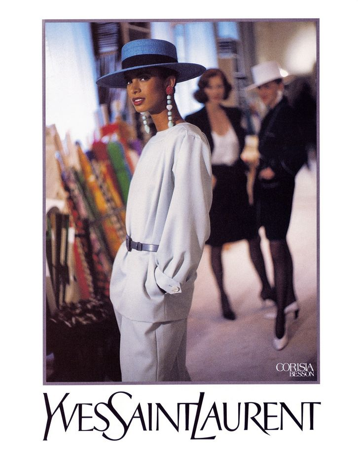 MAUREEN GALLAGHER FOR YSL 1990