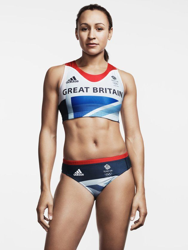 Jessica Ennis I want those abs!!!