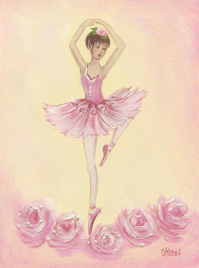 Смешные, открытки балерины