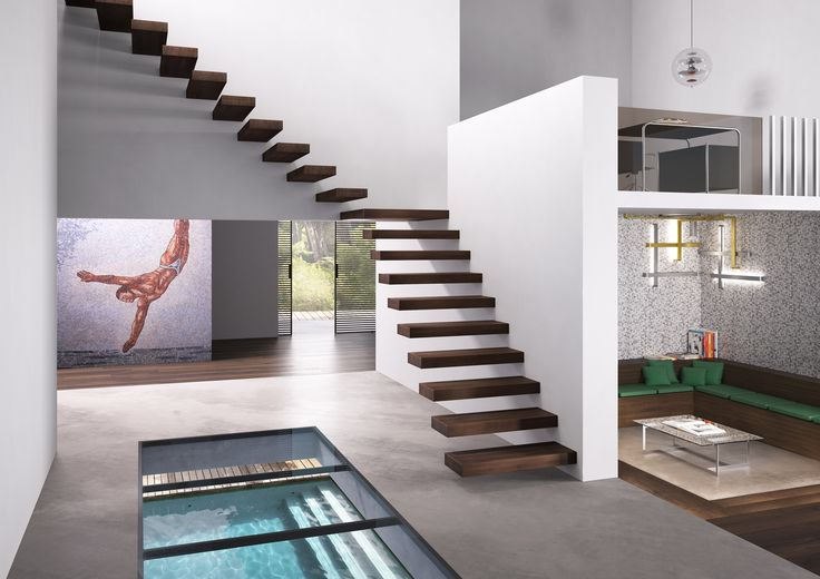 Fontanot | WALL Cantilevered Staircase