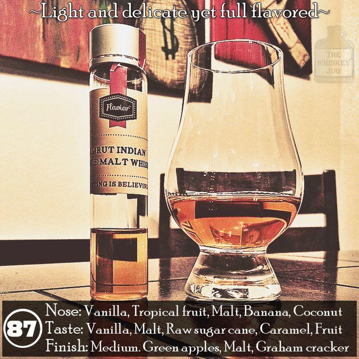 Looking for a light whisky that's still full of flavor? -> Amrut Single Malt