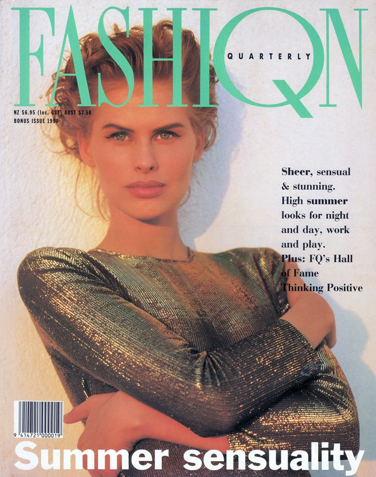 FASHIQN Quarterly Cover Bonus Issue 1990 - Fashion ... | 736 x 935 jpeg 135kB