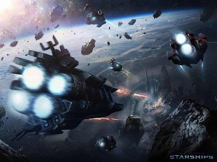 ArtStation - Sid Meier's Starships, Darek Zabrocki
