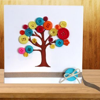 Button Tree Card | Craft Ideas & Inspirational Projects | Hobbycraft
