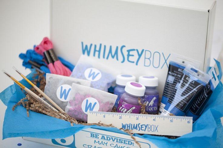 3. #boîte de whimsey - 11 #boîtes d'abonnement incroyable d'ajouter un peu de #plaisir à votre #vie... → #Lifestyle