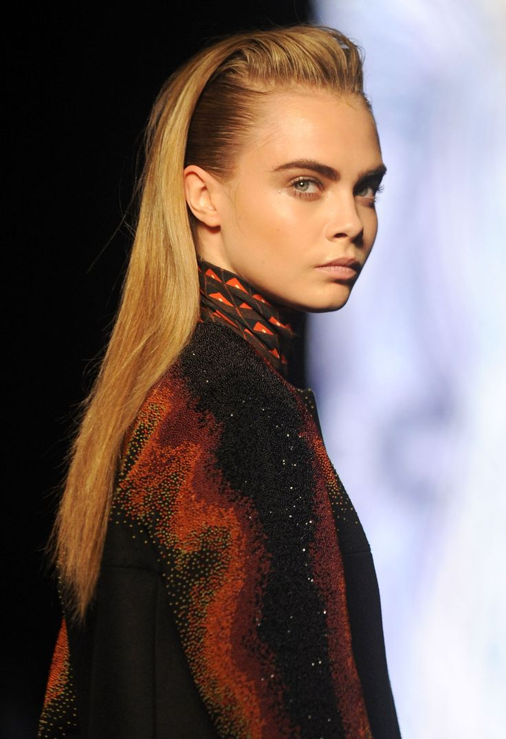 Cara Delevingne for Etro A/W/ 2013