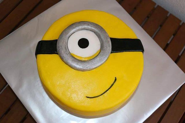 #minion #cake #baking #hobby #birthdaycake #birthday #minions  #homemade