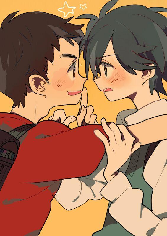 Tags: Anime, Fanart, Pixiv, Nohara Shinnosuke, Crayon Shin-chan Shin Chan x Kazama ♥