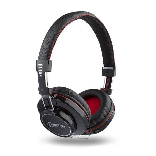 NoiseHush BT70012267 Freedom Bluetooth Headphones with Mic  Black *** Check out this great product.